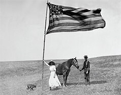 American Flag Themed Calendar