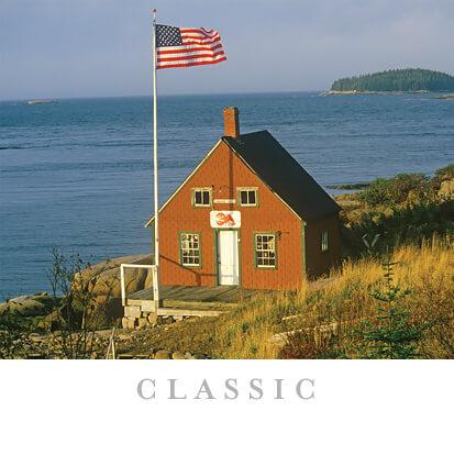 American Flag Themed Gift Calendar