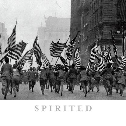 U.S. Flag Themed Calendar