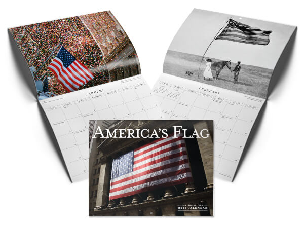 Purchase America's Flag 2018 Calendar